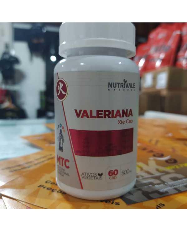 Valeriana 60 cap 500mg Nutrivale
