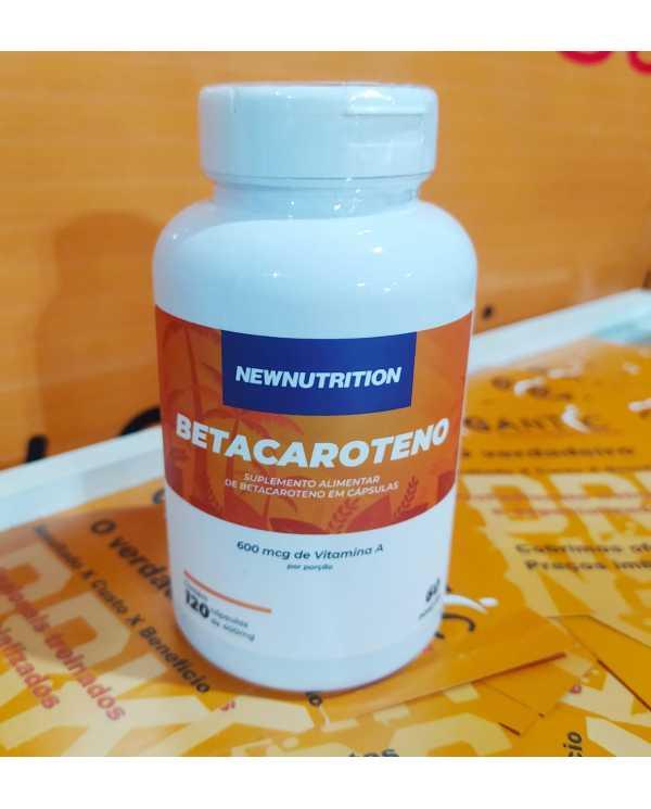Betacaroteno 120 cápsulas Newnutrition
