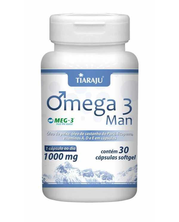 Omega 3 Man 30 cápsulas