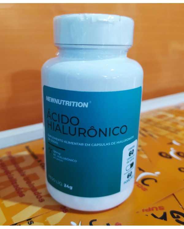 Ácido Hialurônico 60 cápsulas Newnutrition