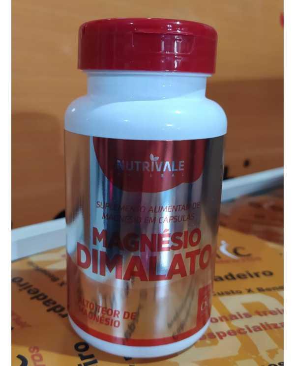 Magnésio Dimalato 60 cápsulas 500mg