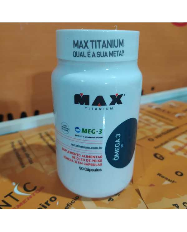 Omega 3 TG 90 cápsulas