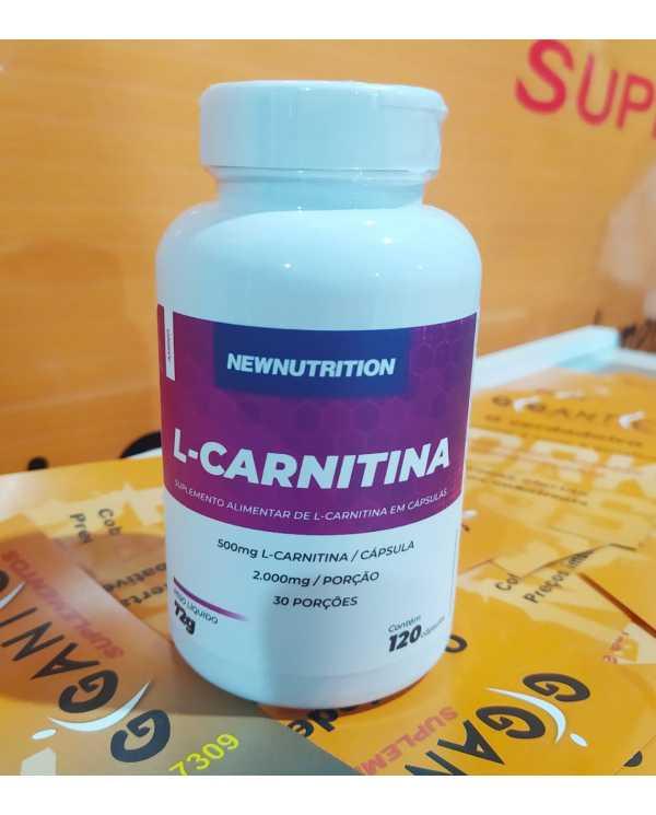 L-Carnitina 120 cápsulas Newnutrition