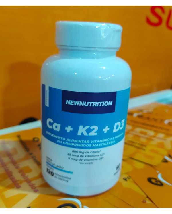 Ca+ K2+ D3 120 comprimidos Newnutrition