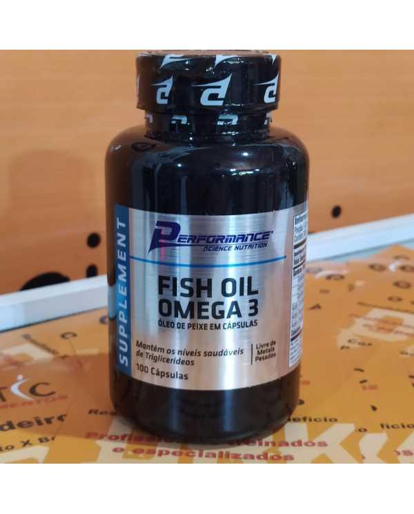 Fish Oil Omega 3 (óleo de peixe) 100 caps