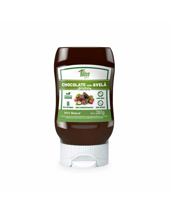 Calda para sobremesa sabor Chocolate com Avelã – Mrs Taste