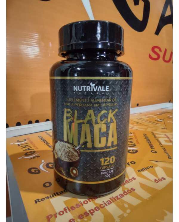 Black Maca 120 cáps Nutrivale