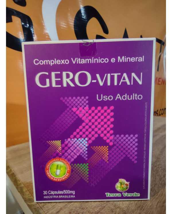 Gero - Vitan (complexo vitaminico) 30cáps