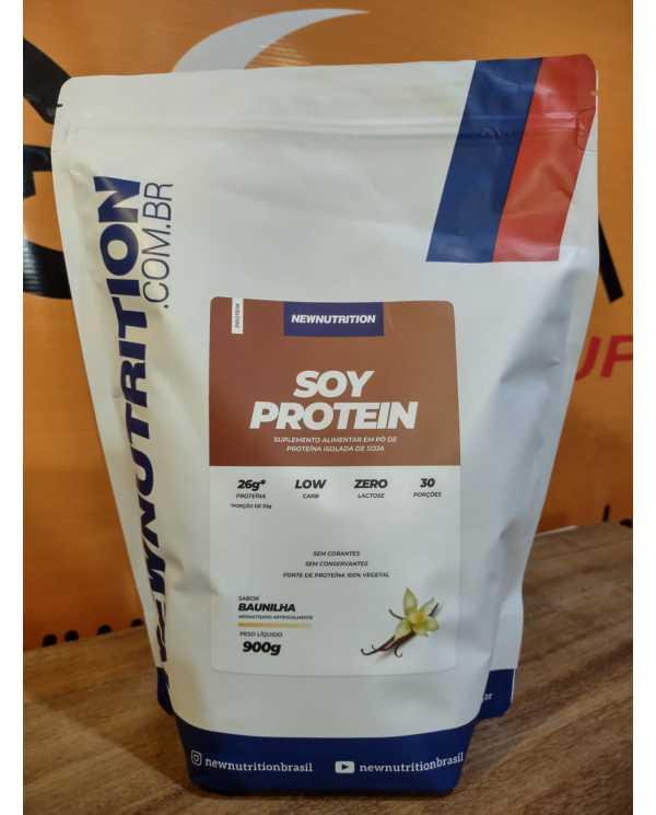 Soy Protein 900g - Proteína Isolada da Soja