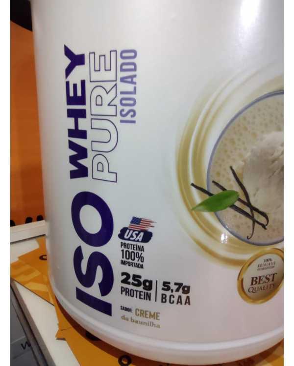 Iso Whey Pure Isolado 1,8kg Nutrata
