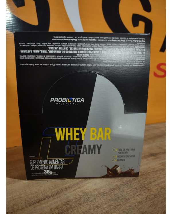 Whey Bar Creamy caixa com 12 Un