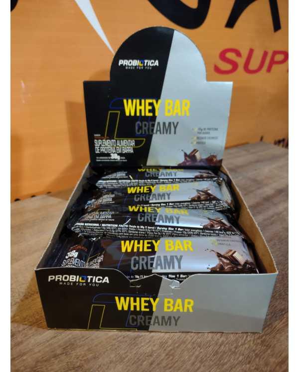 Whey Bar Creamy Unidade Probiotica