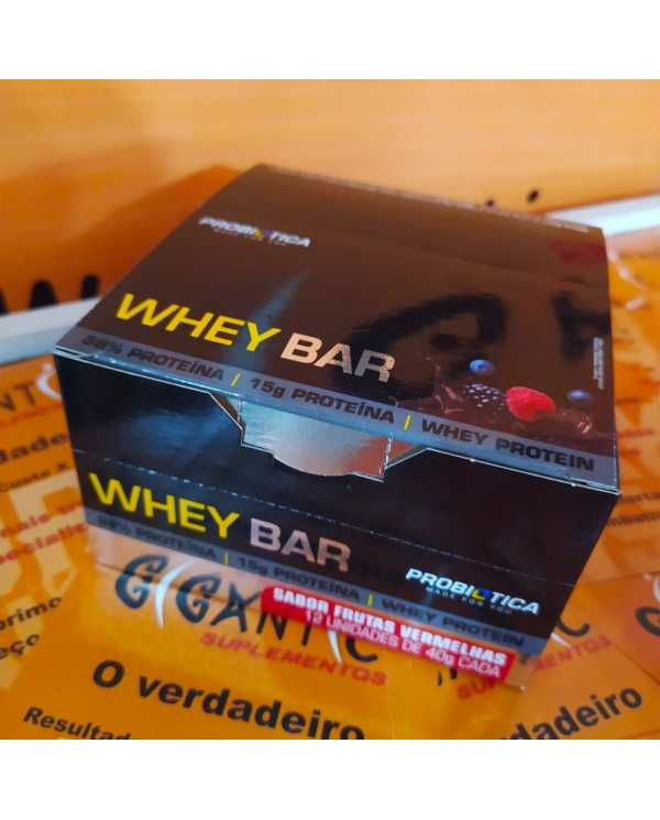 Whey Bar caixa 12 unidades