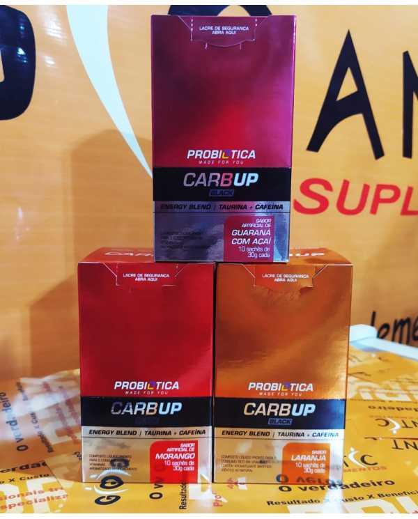 Carbup Black Caixa com 10 sachês de 30g cada