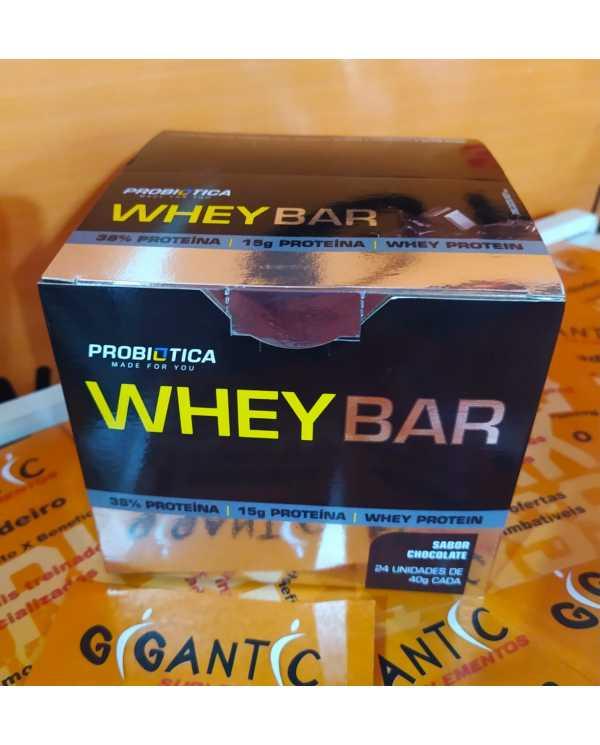 WHEY BAR caixa 24 Unidades Probiotica