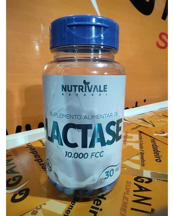 Lactase 30 cápsulas 500mg Nutrivale