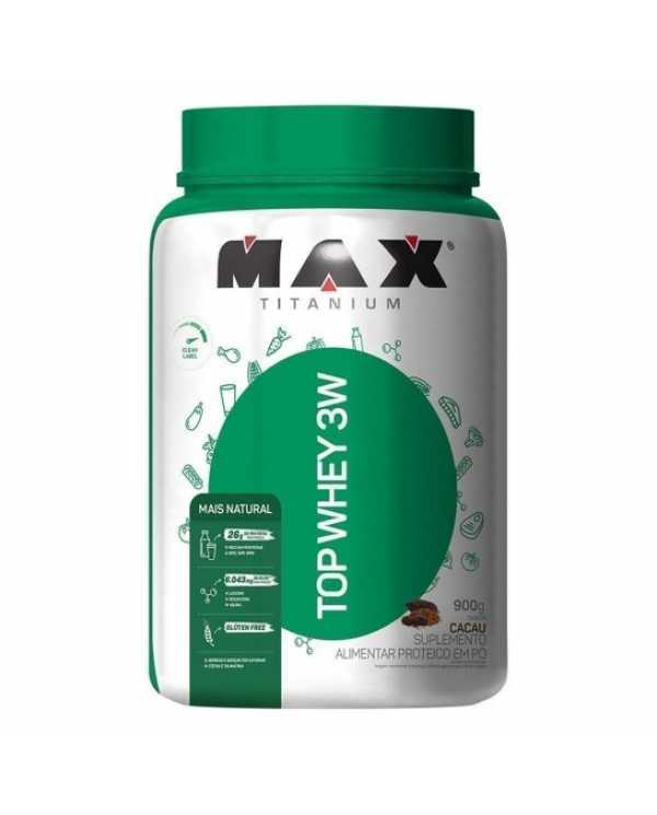 Top Whey 3W 900g + Natural