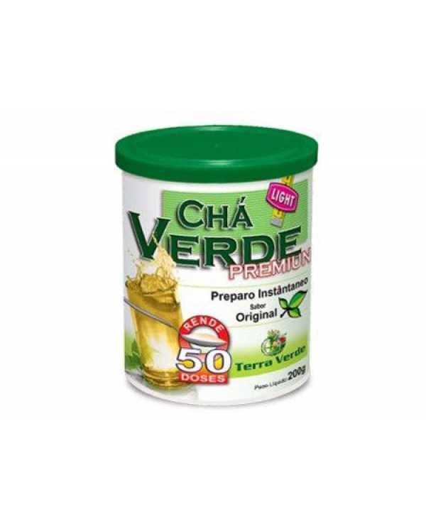 chá verde premium 200g