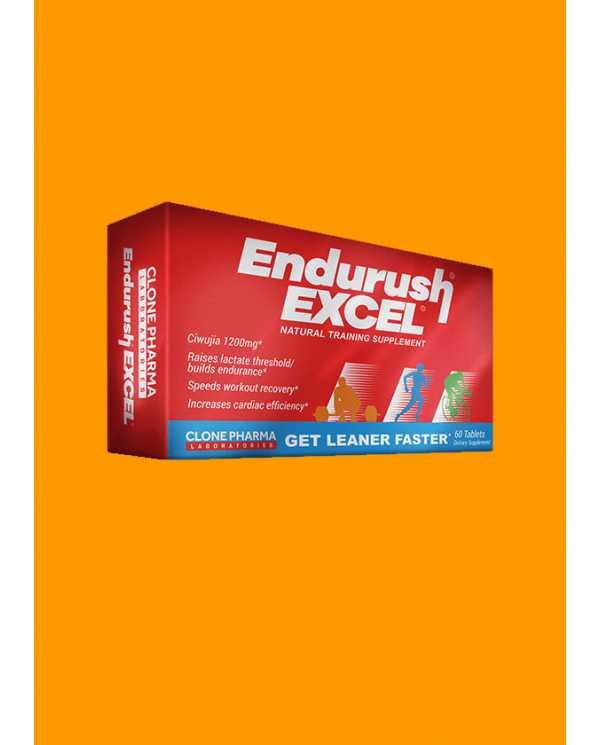 ENDURUSH EXCEL 60 tabletes (importado)
