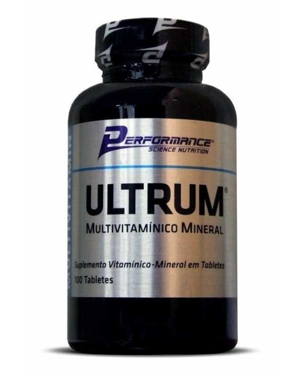 ULTRUM MULTIVITAMÍNICO MINERAL 100 TABLETES