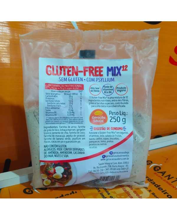 Gluten-free Mix12 c/ Psyllium 250g