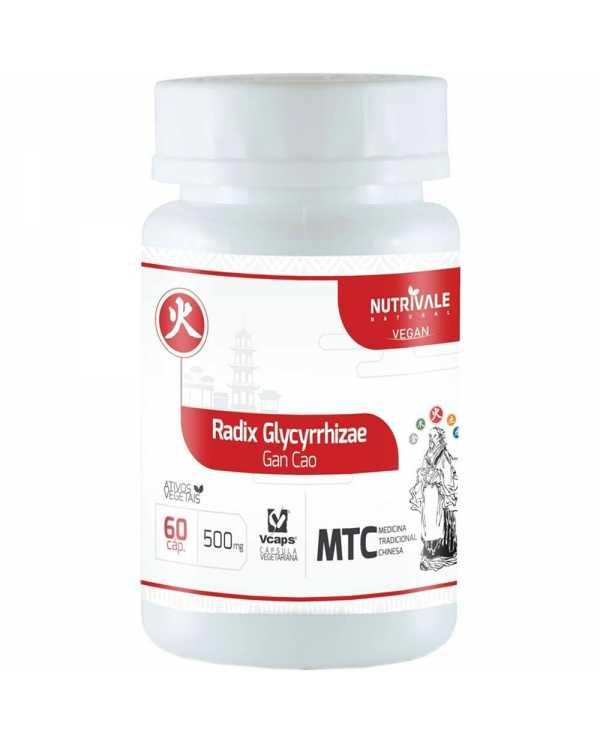 Radix Glycyrrhizae (Alcaçuz) 60 capsulas de 500mg cada