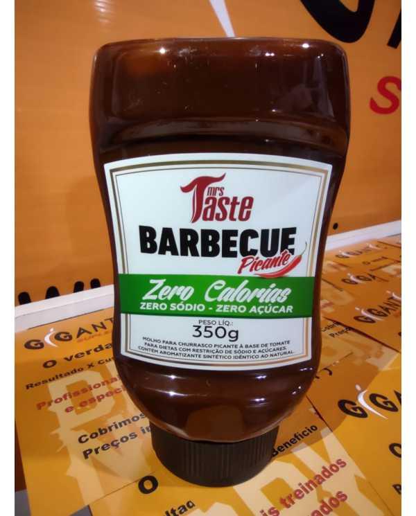 Barbecue Picante 350g  Zero calorias, Zero Sódio, Zero Açúcar.