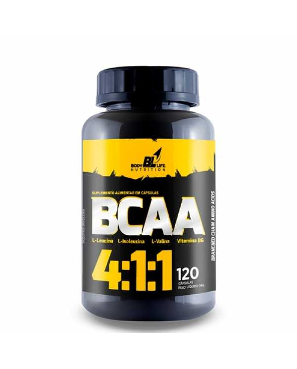 Bcaa 4:1:1 120 Caps Body life