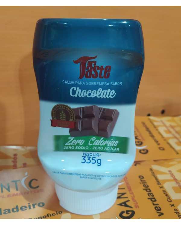 Calda de Chocolate  Zero Calorias, Sódio e açucar 335G