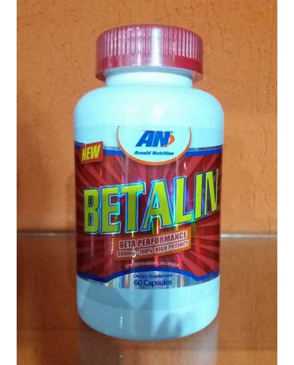 Betalin 800mg 60cáps(Beta Alanina) Importado
