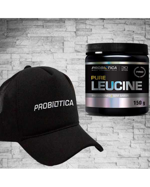 Pure Leucine 150g + Brinde