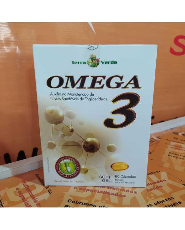 Omega 3 60 cápsulas soft gel