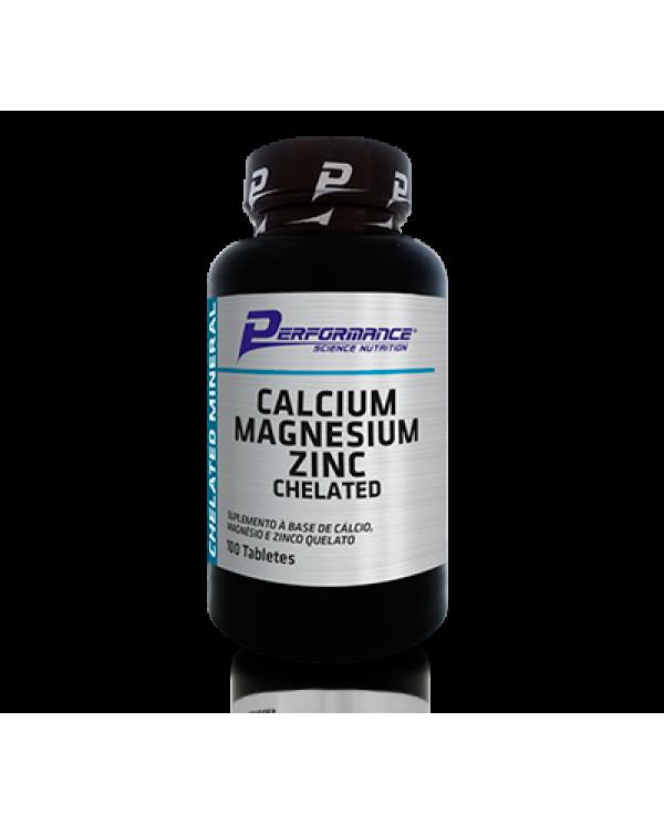 Calcium + Magnesium + Zinc 100 tabletes