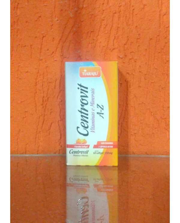 Centrovit 550 mg  Vitaminas e Minerais A-Z 60 caps softgel