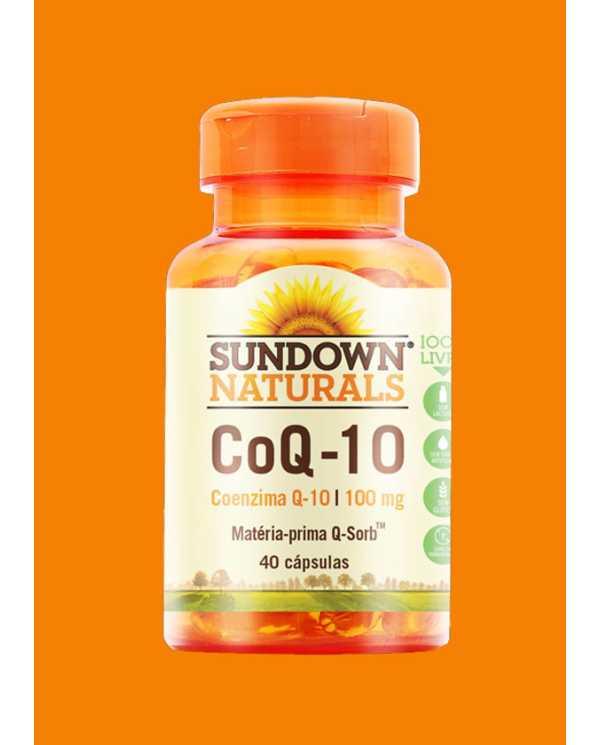 Coq-10 100mg 40 Caps (Importado) Coenzima Q10