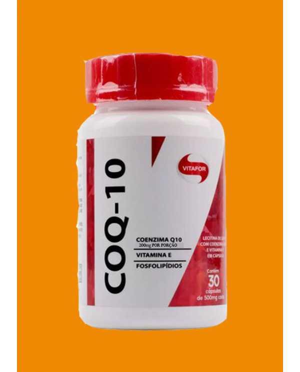 COQ-10 200mg Coenzima Q10 30 caps (100mg por cápsula)