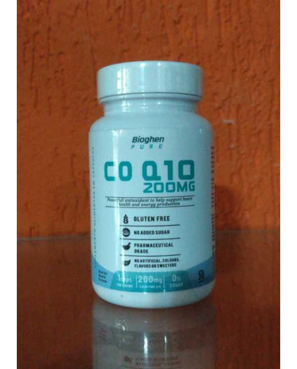 COQ-10 200mg 60 Cápsulas (100mg por cápsula)