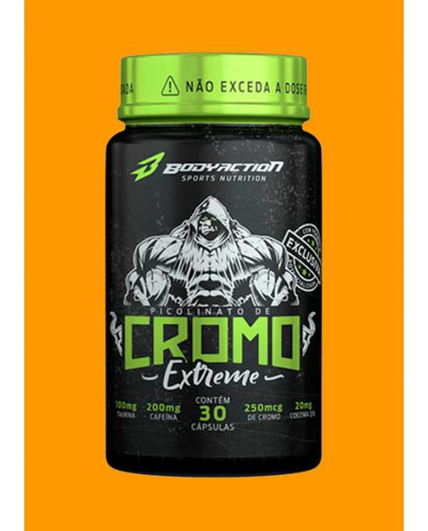 Cromo Extreme 30cáps  (Picolinato de Cromo)