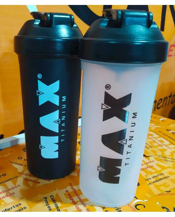 Coqueteleira Max Titanium 700ml