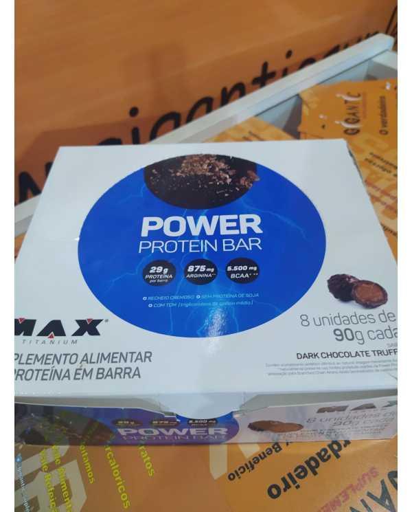 Power Protein Bar caixa 8 unidades 90g cada