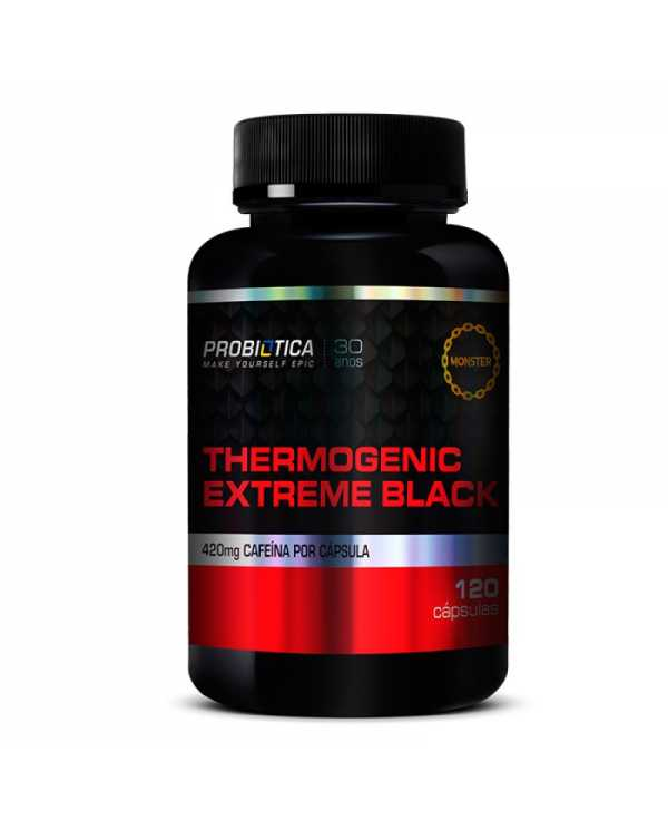 Thermogenic Extreme Black 120 cápsulas