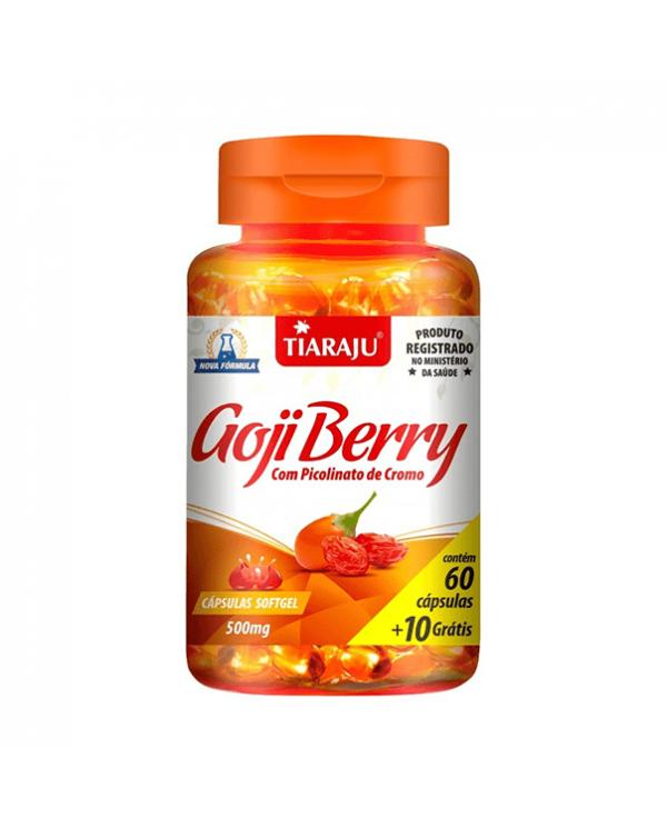 Goji Berry com Picolinato de cromo 500mg 70 caps
