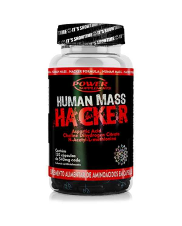 Human Mass Hacker 120 cápsulas de 540mg cada