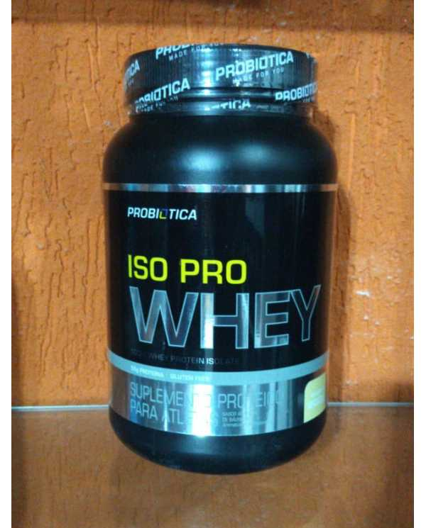 ISO PRO WHEY 900g(100% Isolado Probiótica)