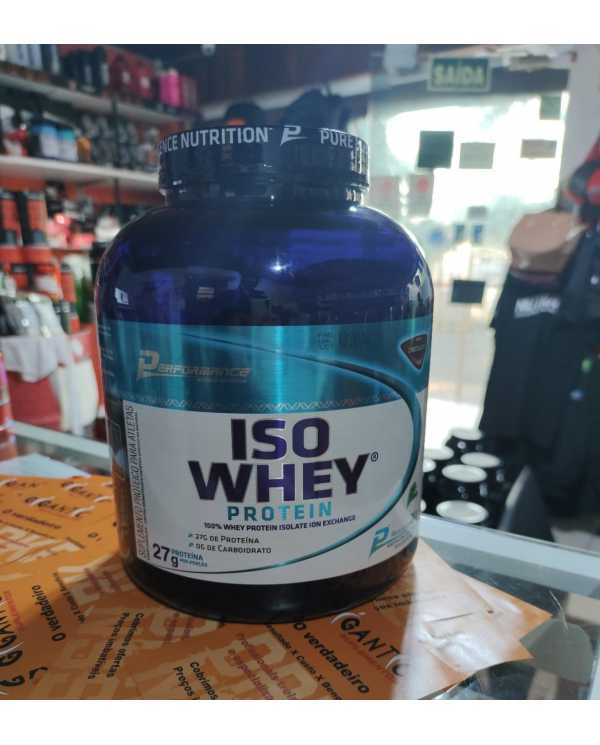 Isolate Whey Protein 2kg Performance