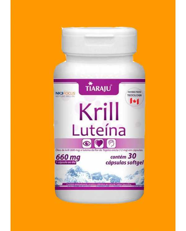 Krill Luteína 30 caps softgel