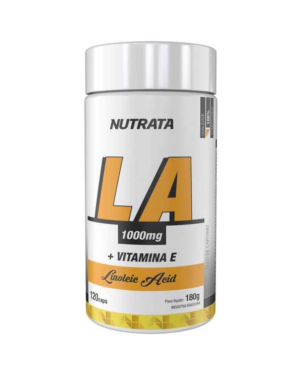 LA 1000mg + vitamina E 120 cápsulas