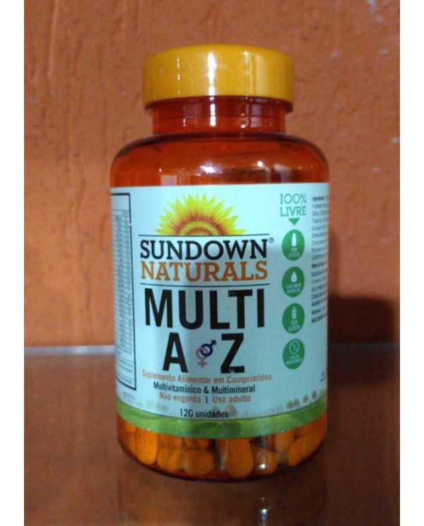 Multi AZ 120 Comprimidos (Importado)