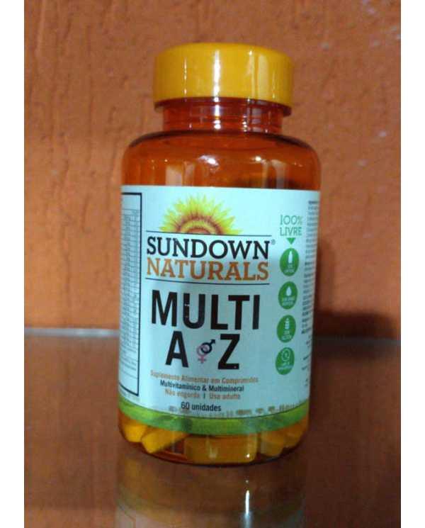 Multi AZ 60 Comprimidos (Importado)