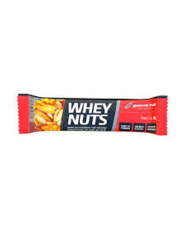 Barra Whey Nuts Unidade 30g